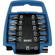 11DLG PRO BITCLIP BASIC BL/ZWPZ/PH/TX 25MM