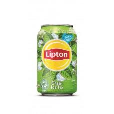 LIPTON ICE TEA GREEN BLIK 33CL (24 STUKS)