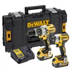 DEWALT DCK276P2-QW 18V XR SET: XRP DCD996 + DCF887 2X5,0AH