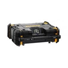 DEWALT TSTAK RADIO + XR LADER DWST1-81078-QW