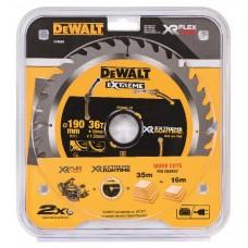 DEWALT FLEXVOLT EXTREME RUNTIME CIRKELZAAGBLAD 190X30MM 36 TND DT99563